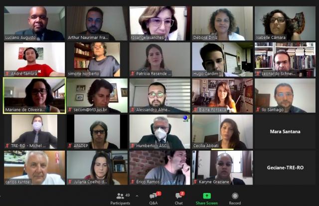 Aula magna sobre comunicação pública e democracia digital no pós-covid abre Seminário On-line de Comunicação E Justiça nesta quinta, 15
